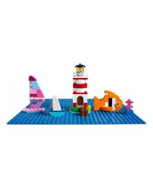 LEGO® Classic Базовая пластина синего цвета 10714