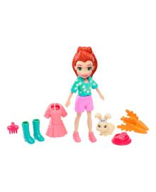 Кукла Barbie Лила с любимцем Polly Pocket