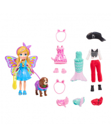 Маленькая модница Barbie с любимцем Polly Pocket