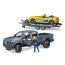 Набор Bruder Джип Dodge RAM 2500 с прицепом и родстером 1:16