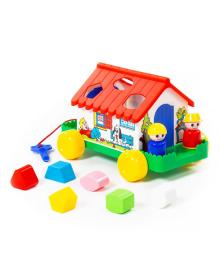 Развивающая игрушка Полесье Игровой дом 6028, 4810344006028