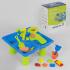 Столик для песка и воды 102 (12) 24 эл., с кинетическим песком, в коробке