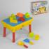 """Столик для песка и воды HG 430 (12) """"Аквапарк"""" 2в1, 9 аксессуаров, в коробке"""