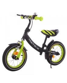 Детский беговел Tilly balance (Тилли Баланс Матрикс) 12 Matrix T-21259 Green (6900108000015) Цвет Зеленый