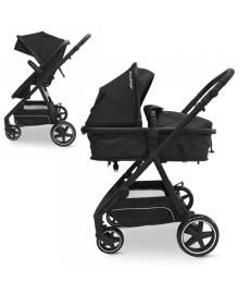 Детская коляска EL CAMINO ME 1069 Denim Dark Gray ALLIANCE, 2 в 1, темно-серая