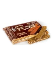 Вафли Ролс с молочно-шоколадным вкусом, 100 г