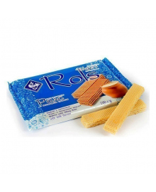 Вафли Ролс с молочным вкусом, 100 г