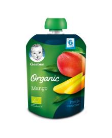Фруктовое пюре Gerber Organic Манго 90 г
