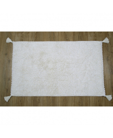 Коврик Irya - Angel beyaz белый 70*110 (svt-2000022237956) SVTEX-svt-2000022237956
