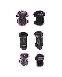 Комплект защитный подростковый Globber Pink 25/50 кг (XS)