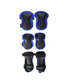 Комплект защитный подростковый Globber Blue 25/50 кг (XS)