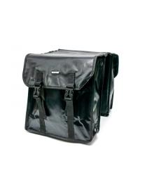 Велосумка штаны, на багажник 31x14x33cm черный BRAVVOS F-089, водоотталк. материал (BIB-031)