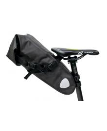 """Велосумка """"байкпакинг"""" под седло 62x14x14cm черный водоотталк. BRAVVOS A2-402 (BIB-028)"""