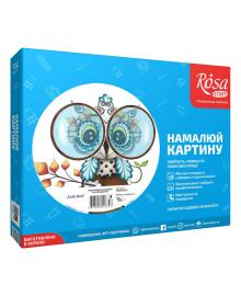 Набор Rosa Start Картина по номерам Cute Owl N00013210, 4823098516323