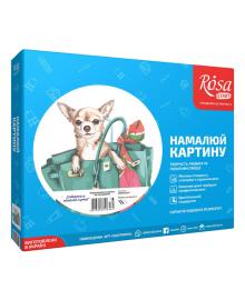Набор Rosa Start Картина по номерам Собачка N00013224, 4823098516484