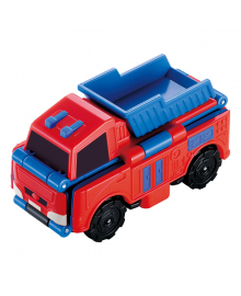 Машинка-трансформер TransRacers Crane&Dump Truck