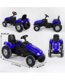 Трактор педальный 07-321 BLUE Синий 77287