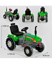 Трактор с педалями БОЛЬШОЙ 07-294 ЗЕЛЁНЫЙ 76443 PILSAN Igr-76443