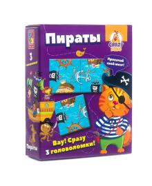 Игра настольная Vladi Toys Crazy Koko Пираты (рус) VT8055-01, 4820195057346