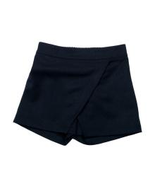 Шорты-юбка темно-синего цвета Mevis 1612-01