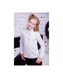 Демисезонная блуза с кружевом Zironka 3598-1