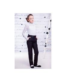 Классические прямые брюки черного цвета для девочки Zironka 8521-1