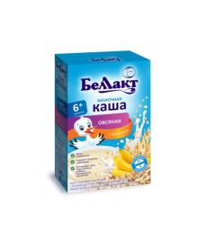 Каша молочная овсяная с бананом Беллакт, 200 г