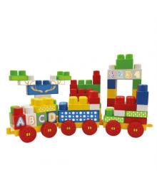 Развивающий детский конструктор DOLU 70 элементов (5028), 5054131050286
