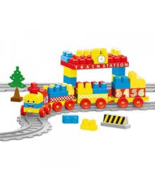 Железная дорога DOLU 89 деталей (5082), 5054131050828