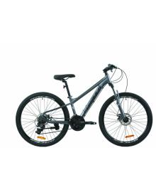 """Велосипед AL 26"""" Formula F-1 AM DD рама-18"""" графитовый (м) 2020 (OPS-FR-26-436)"""