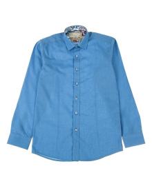 Рубашка Kniazhych Ocean синяя Ocean/ K611 sl