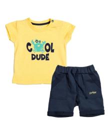 Комплект Фламинго Cool Dude желтый/темно-синий 508-129