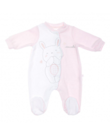 Человечек BluKids Bebe Bio Cotton Caccole Pink 5487274