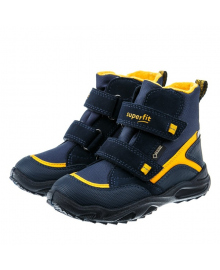 Ботинки Superfit Gracier Blue/Yellow 5-09235-81