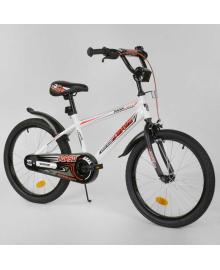 """Велосипед 20"""" дюймов 2-х колёсный """"CORSO"""" EX-20 N 2866 БЕЛЫЙ 88176"""