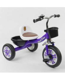 """Велосипед 3-х колёсный LM-1355 """"Best Trike"""" ФИОЛЕТОВЫЙ 87775"""