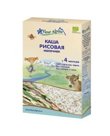 Каша органическая Fleur Alpine Milk&Rice 200 г