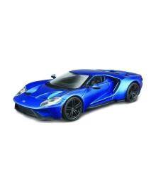 Автомодель Bburago Ford GT, голубой металлик, 1:32 18-43043, 6900001175292