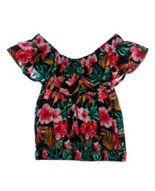 Блузка BluKids с цветочным принтом Frolar 5534384