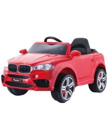 Детский электромобиль Tilly T-7830 EVA RED джип на Bluetooth 2.4G Р/У 2*6V4,5AH мотор 2*25W с MP3 104*64*53 ш.к.