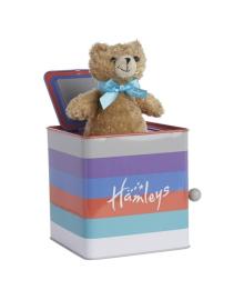 Музыкальная игрушка Hamleys Медвежонок в коробке 853226, 5015353853222