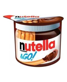 Ореховая паста с какао Nutella и хлебные палочки, 52 г