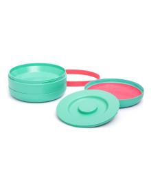 Набор тарелок Suavinex История маленьких монстров Green 2 шт