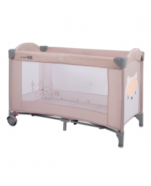 Кроватка-манеж FreeOn Playful Fox Beige 33201, 3830071133201