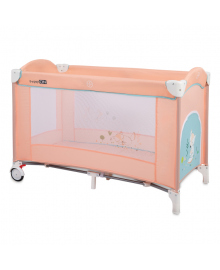Кроватка-манеж FreeOn Sleepy Fox Peach 33218, 3830071133218