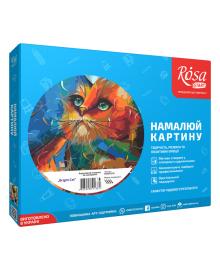 Набор Картина по номерам Rosa Start Bright Cat N00013219, 4823098514381
