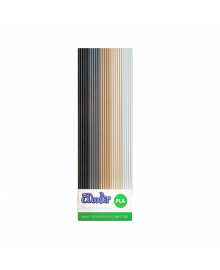 3DOODLER CREATE Набор стержней из PLA-пластика  для проф. исп.- ХАКИ (25 шт, метал/глянец) PL-MIX7