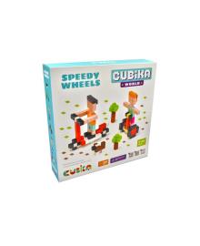 """CUBIKA Деревянный конструктор Cubika World """"Быстрые колеса"""