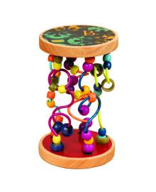 Развивающая деревянная игрушка Battat Разноцветный Лабиринт (BX1155)