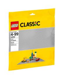 Конструктор LEGO CLASSIC базовая пластина серого цвета  10701, 5702015357159